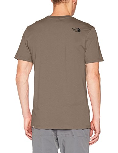 The North Face Herren T-Shirt Simple Dome Falcon Brown