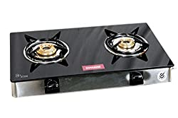 Sunshine Victory 2 Burner Toughened Glass L.P. Gas Stove