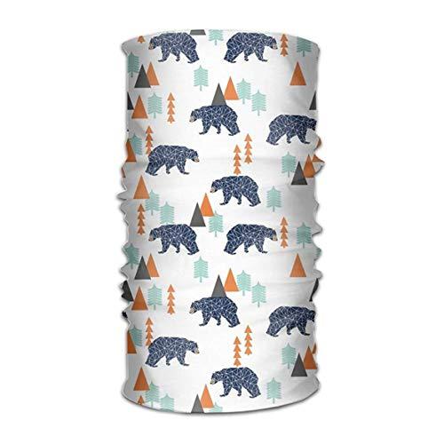 GHEDPO Stirnband Polar Bear Triangle Headwear Bandanas Seamless Headscarf Outdoor Sport Headdress Running Riding Skiing Hiking Headbands | 06468358446361