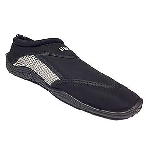 Beco Surf und Badeschuhe Schuhe, Silber/Schwarz, 42