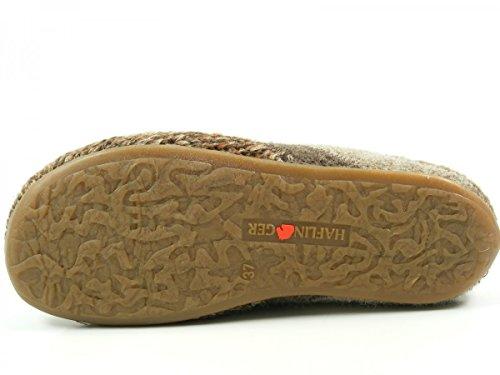Haflinger 481045 Everest Just Pantofole donna uomo Braun