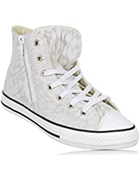 Converse - Converse Ctas Side Zip S Scarpe Sportive Pelle Beige Oro