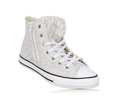 CONVERSE 659019C CT AS HI SIDE ZIP SNEAKERS Mädchen STONE 31 -