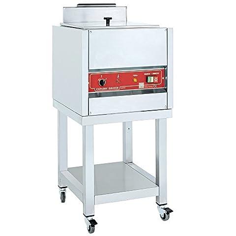 MACFRIN 46100G08 Stainless Steel Cutlery Dryer Steriliser, 750W, 230/1V, 50 Hz, 440 mm Length x 480 mm Width x 870 mm Height