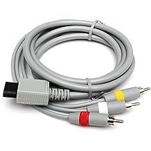 Generic YC-UK2–160104–134< 1& 5874* 1> ndo wiilead para ni RCA Cable de 1,8m wii de audio para AV compuesto Nintendo Wii AV de 1,8m wii