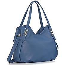 1ba51e92efc353 Keshi Leder neuer Stil Damen Handtaschen, Hobo-Bags, Schultertaschen,  Beutel, Beuteltaschen