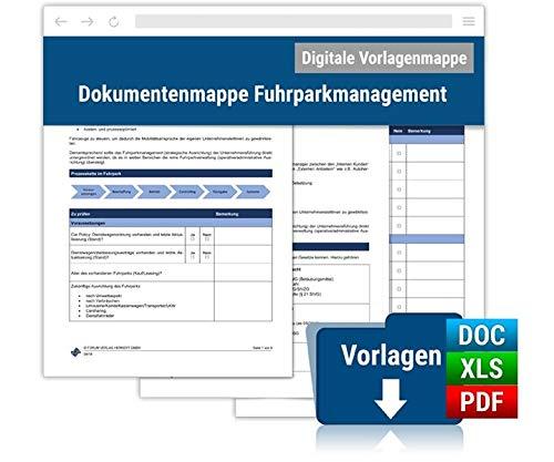 Dokumentenmappe Fuhrparkmanagement: Online-Ausgabe (Jahresbezug)