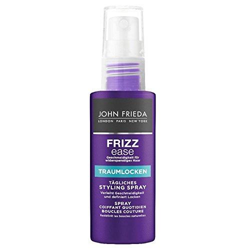 John Frieda Frizz Ease Traumlocken Tägliches Styling Spray 50 ml Styling Spray für natürliche Locken bei widerspenstigem Haar