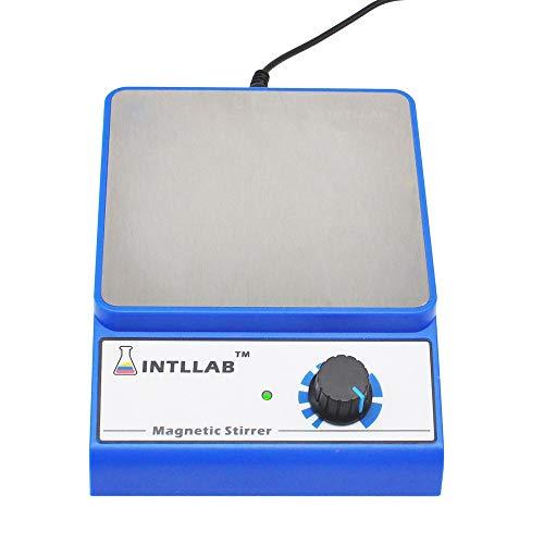 Labor Magnetrührer 316 Edelstahl Stufenlose Geschwindigkeit Magnetic Mixer, Mit Rührstab 3000 Upm Maximale Mischkapazität: 3000 Ml / 0,8 Gallone, AC100V ~ 240 V
