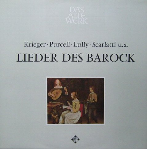 on Krieger, Purcell, Lully, Scarlatti u.a.) [Vinyl LP] [Schallplatte] ()