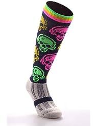 Samson diseño de calavera medias calcetines de DJ FUNKY de la selección de fútbol de manga corta para hombre pantalones de deporte para mujer COLOR calcetines de KID balón de fútbol sala