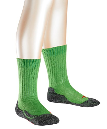 FALKE Active Warm Kinder Socken rugby green (7741) 19-22 (Jungen-rugby)