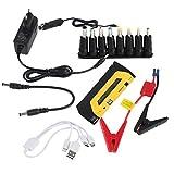 Funnyrunstore Mini Notfall-Startvorrichtung Car Jump Starter Tragbare Dual USB Mobile Power,Grün Schwarz