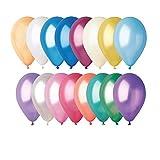 GEMAR Sachet de 100 Ballons, BA19600/MULTI, Multicolore, Taille Unique