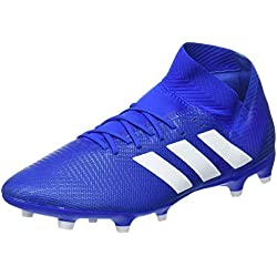 adidas DB2109, Botas de fútbol para Hombre, Azul Ftwwht/Footblu, 43 1/3 EU