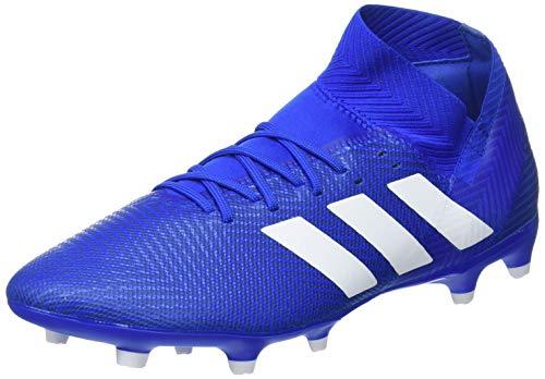 adidas Db2109, Scarpe da Calcio Uomo, Blu Ftwwht/Fooblu, 45 1/3 EU