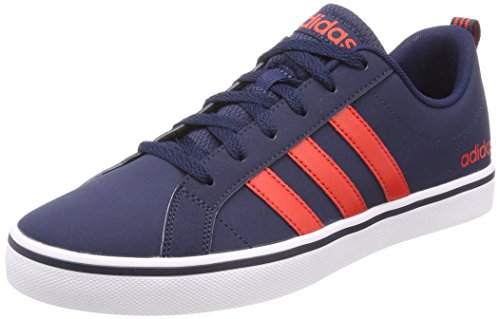 adidas Herren VS Pace Basketballschuhe Blau Collegiate Navy/Core Red S17/Ftwr White, 45 EU