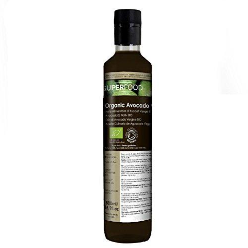 Aguacate Virgen BIO - Aceite Culinario 100% Puro - Certificado Ecológ