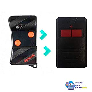 Garage Remote Control Compatible with APRIMATIC TG2M (Easy Programming with Switch)