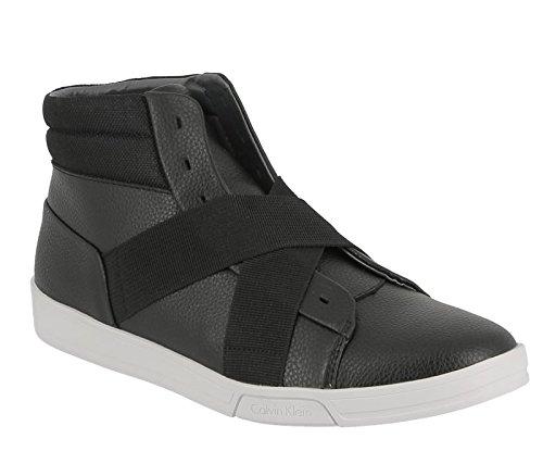Calvin Klein Banjo tumbled leather black F0799 BLK