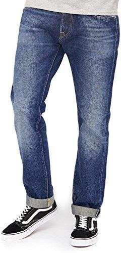 edwin ed 55 Edwin ED-55 63 Rainbow Selvage Jeans moriko wash