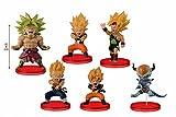 Dragon Ball Z WCF BATTLE OF SAIYANS vol4 whole set of 6