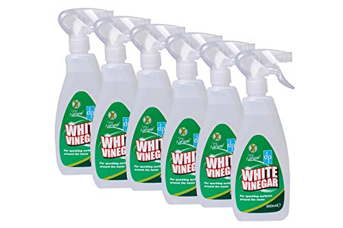 Geval Van 6 X Dri-Pak Schoon En Natural White Vinegar Cleaner 500ml