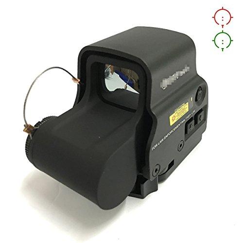 ATAIRSOFT Airsoft táctico holográfico 558 Nuevo visor de puntos rojo y verde negro