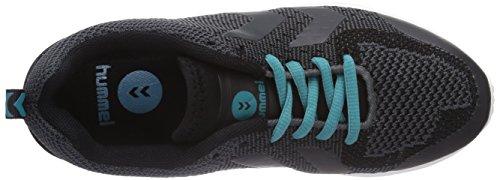 Hummel Hummel Zeroknit, Chaussures de handball mixte adulte Noir - Noir