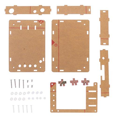 Homyl Dso138 Oscilloscope Shell Parts Kit Tester 1 Mps 200khz Negro 128g Shell Herramientas   Concha negra 128g