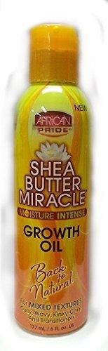 African Pride le beurre de karité Miracle Growth Oil 177 ml