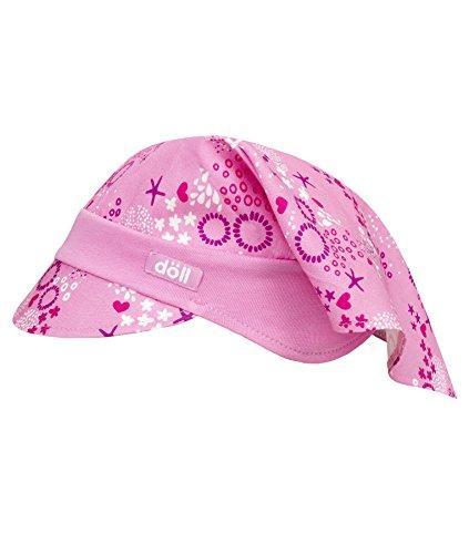 Döll Mädchen Mütze Kopftuch mit Schirm 1815291728, Rosa (Fuchsia Pink 2023), 53