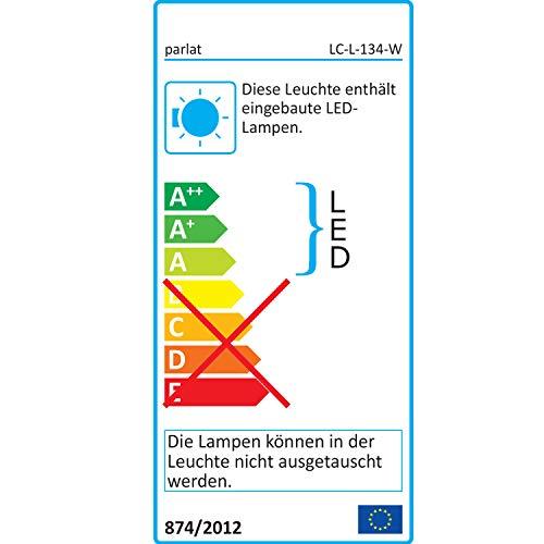 parlat LED lámpara bajo Mueble Rigel, 87,3cm, 1000lm, Blanca sin Cable de alimentación