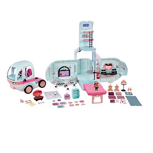 Giochi Preziosi LOL Glamper, Primo Veicolo per LOL e Pets, con 55 Sorprese e una Doll