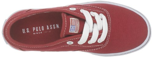 US Polo Assn, Unisex - Kinder Sneaker Rot - Rot