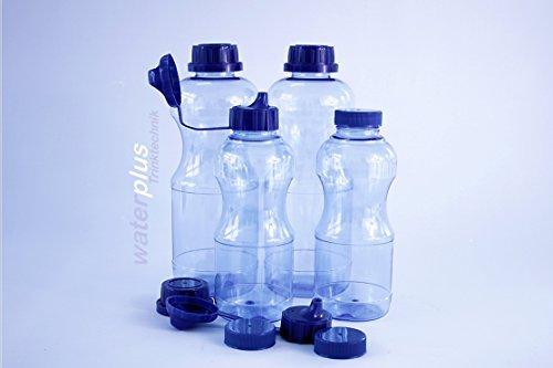 4-x-tritan-flaschen-100-ohne-weichmacher-2-x-1-liter-rund-2-x-05-liter-rund-3-standdardeckel-3-dicht