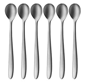 auerhahn silk latte macchiato spoons stainless steel. Black Bedroom Furniture Sets. Home Design Ideas