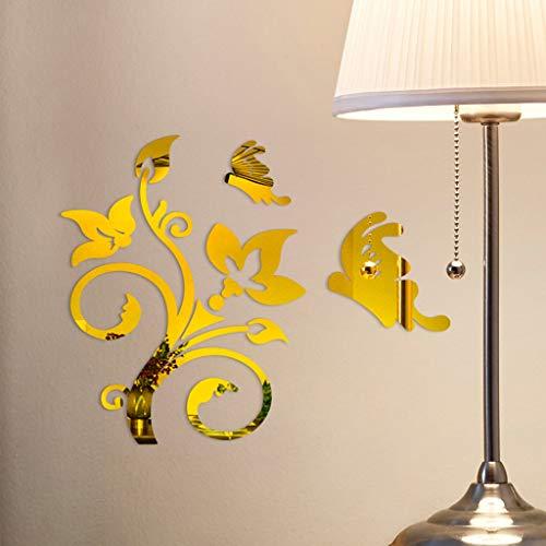 Abnehmbare DIY Art Decorations Home Decor Wandaufkleber dekoratives selbstklebendes Vinyl für Zimmer Sticker ABsoar Stickers