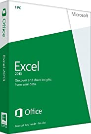 Microsoft Excel 2013 - 1PC (Product Key Card ohne Datenträger)