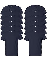 Hugo Boss Jefe De Manga Larga Azul Marino Plisy Polo Camisa 7a52056255606