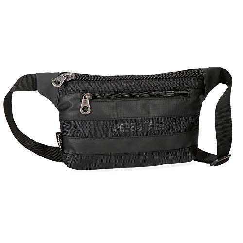 Pepe Jeans Bromley Black Waist Bag