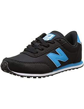 New Balance 410, Zapatillas Unisex Niños, Multicolor (Black/Blue), 30 EU