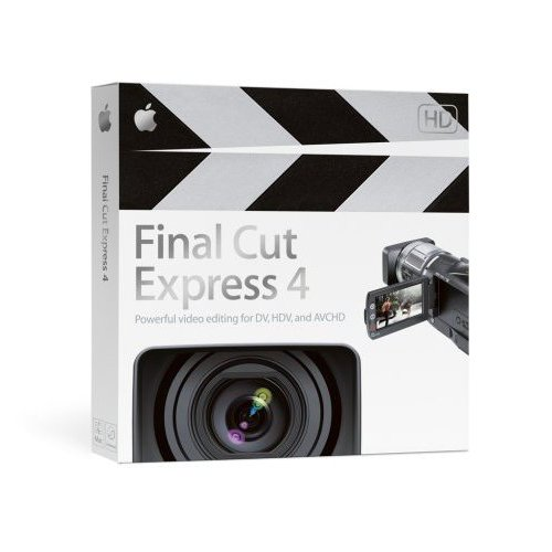 Final Cut Express 4.0 (licence 1 poste) [Import]