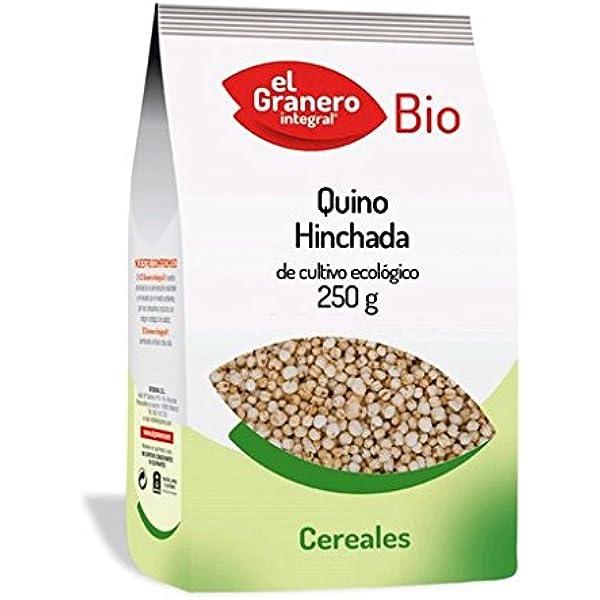QUINOA HINCHADA BIO 250 gr: Amazon.es: Salud y cuidado ...