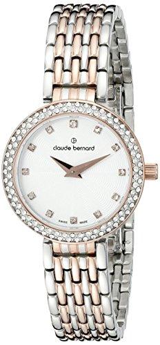 Claude Bernard Women's Watch Analogue Quartz Stainless Steel Silver 20204-3-N