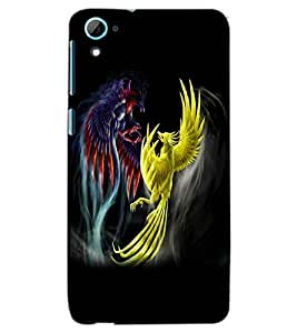 HTC DESIRE 826 DRAGONS Back Cover by PRINTSWAG