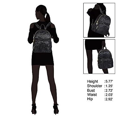 410dep7WTPL. SS416  - Veevan Mochila Nylon Moda Mujer Mochila Escolar Casual Camo Oscuro