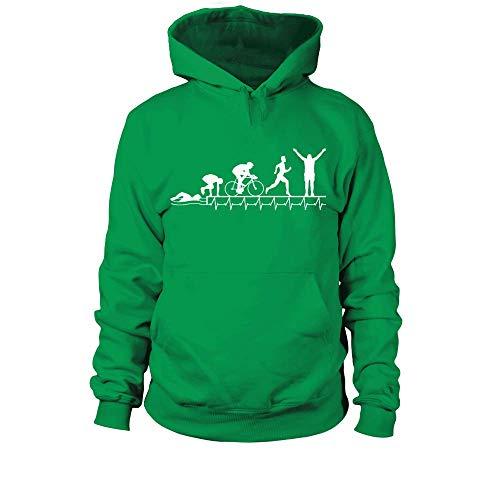 Triathlon Shirt · Triathlet · Triathletin · Sport · Rennrad · Schwimmen · Laufen Kapuzenpullover (Triathlon Hoodie)