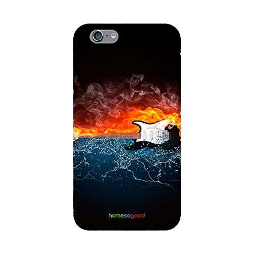 HomeSoGood Hot And Cold Music Multicolor 3D Mobile Case For iPhone 6S...