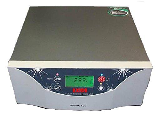 Exide Solar Inverter 850va 12V 40Amps Solar Charge Controller with LCD